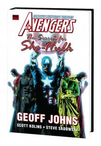 Avengers Search For She-Hulk Premiere Edition Hardcover (Marvel) - New/Sealed!