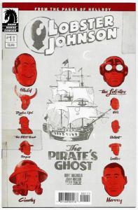 Lobster Johnson The Pirate's Ghost #1 Hellboy (Dark Horse, 2017) NM