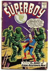 SUPERBOY #86-1961-kryptonite army-DC SILVER AGE-G/VG