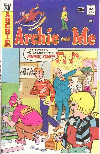 ARCHIE & ME (1964-1987)83 VF-NM   June 1976 COMICS BOOK