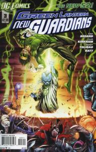 Green Lantern: New Guardians #3 VF/NM; DC | save on shipping - details inside
