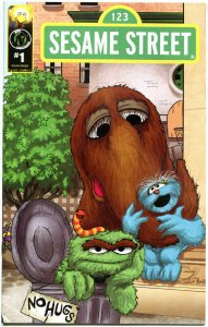 SESAME STREET #1, VF, Big Bird, Elmo, Oscar, Cookie Monster, 2013, Ape Ent.