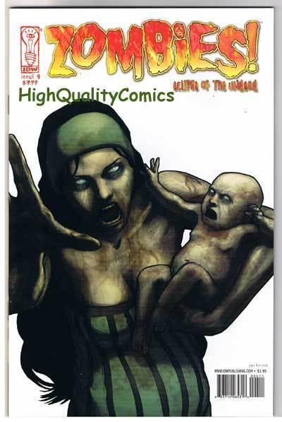 ZOMBIES UNDEAD #4, NM+, Horror, IDW, Walking Dead, 2006, more in store