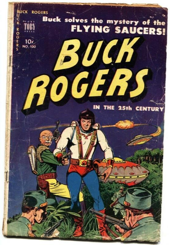 Buck Rogers In The 25th Century #100 comic book 1951- Flying Saucer