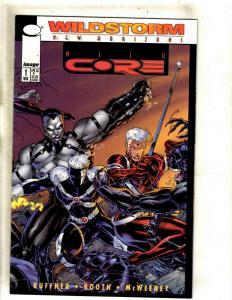 12 Image Comic Books Mind Core # 1 2 3 4 5 6 7 + Jenny Sparks # 1 2 3 4 5 MF16