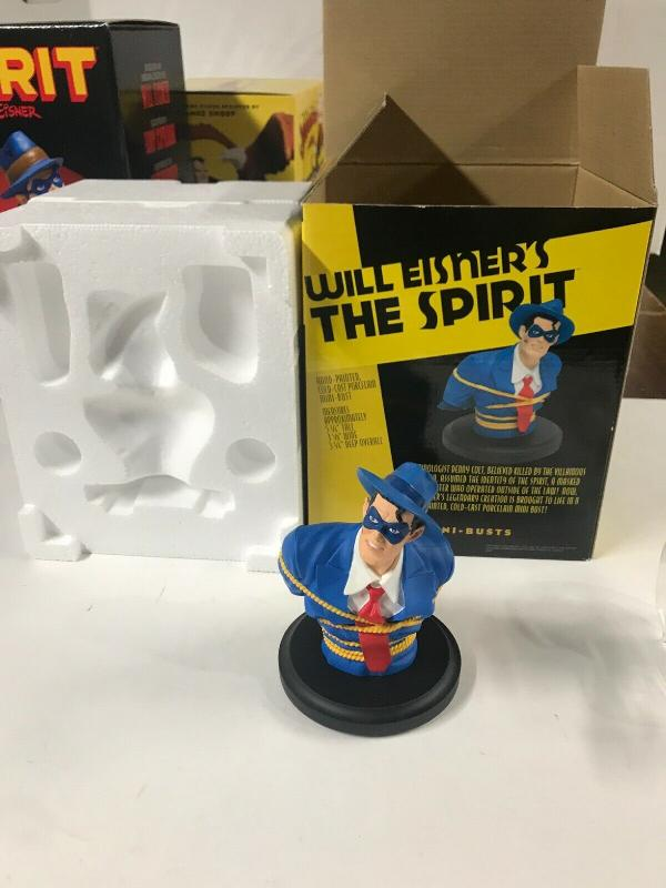 Dc Direct The Spirit Bust 592/1000 Mint With Box