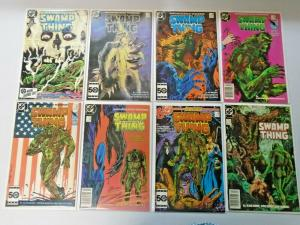 Swamp Thing lot #35 to #98 2nd Series 45 different books average 7.0 (1985)