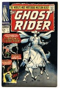 Ghost Rider #1 1967-Marvel-1st issue-Dick Ayers art-origin-FN/VF