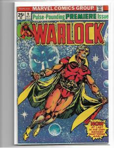 Marvel Comics Warlock Volume 1 #9 1975 VF/NM Starlin Art Thanos