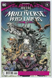 Dark Nights Death Metal: The Multiverse Who Laughs # 1 Cover A DC NM