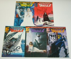 Ghosts of Dracula #1-5 VF/NM complete series - eternity comics set lot 2 3 4