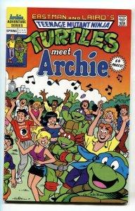 TEENAGE MUTANT NINJA TURTLES ADVENTURES SPECIAL 1991 Meet Archie-comic book