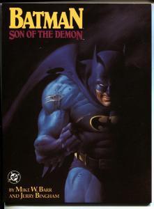 BATMAN: Son of Demon 1987 HTF First Print Graphic Novel
