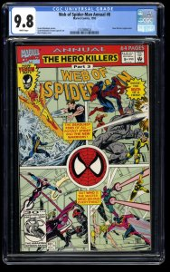 Web of Spider-Man Annual #8 CGC NM/M 9.8 White Pages