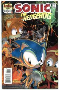 SONIC THE HEDGEHOG #60 1998--Archie Comics-Sega