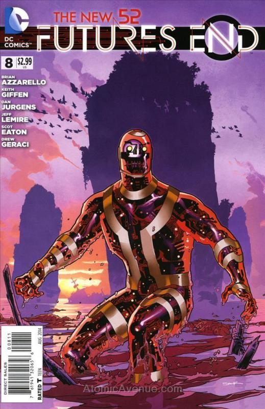 New 52, The: Futures End #8 VF/NM DC - save on shipping - details inside
