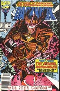 DARKHAWK (1991 Series)  (MARVEL) #24 NEWSSTAND Near Mint Comics Book
