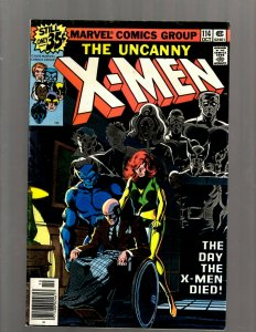 (Uncanny) X-Men # 114 FN Marvel Comic Book Beast Angel Cyclops Magneto SM19