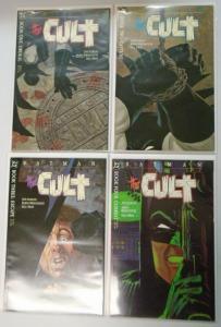 Batman The Cult, Set:#1-4, 6.0/FN (1988)