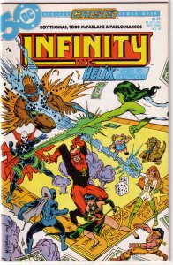 Infinity Inc   vol. 1   #18 GD (Crisis cross-over)