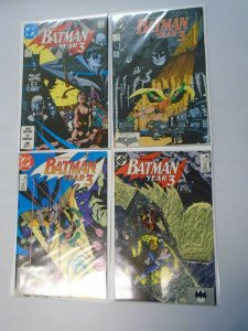 Batman run #436-439 Batman Year 3 issues avg 8.0 VF (1989)