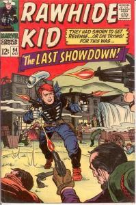 RAWHIDE KID (1960-1979) 54 F+   October 1966 COMICS BOOK