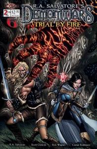 Demonwars: Trial by Fire #2, NM + (Stock photo)