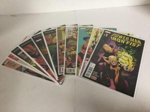 Power Man And Iron Fist 1-11 Lot Set Run Nm Near Mint Marvel Comics