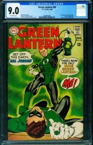 GREEN LANTERN #59 CGC 9.0 1st GUY GARDNER 2030202003