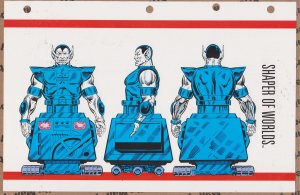 Official Handbook of the Marvel Universe Sheet- Shaper of Worlds