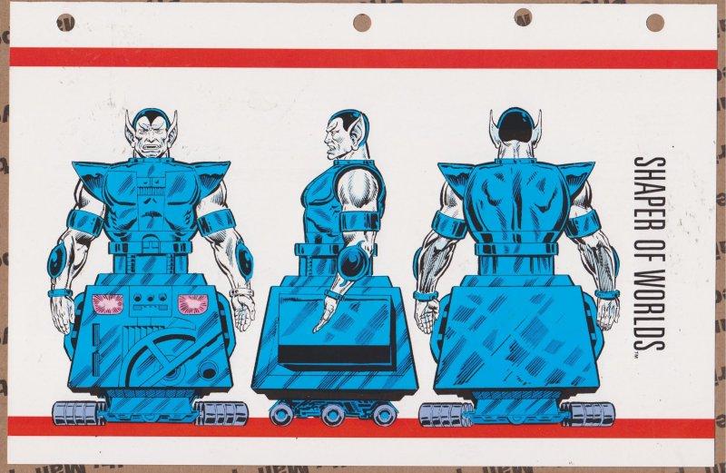 Official Handbook of the Marvel Universe Sheet- Shaper of Worlds