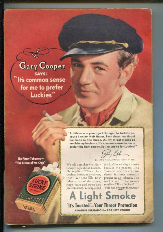 SKY FIGHTERS 9/1937-AIR WAR PULP-THRILLS-GEORGE BRUCE-GARY COOPER-BURKS-fn minus