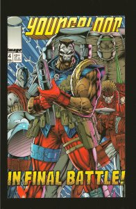 Image Comics Young Blood in Final Battle #4 February 1993