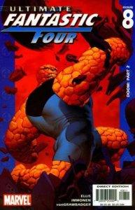 Ultimate Fantastic Four #8, NM- (Stock photo)