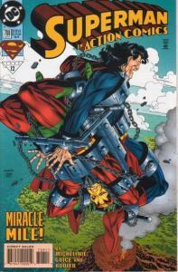 Action Comics (1938 series) #708, NM (Stock photo)