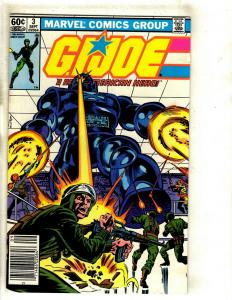 Lot Of 10 GI Joe Marvel Comic Books # 3 (2) 4 5 42 50 + Transformers 2 (3) 3 RM1