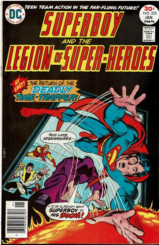 Superboy and the Legion of Super Heroes #223, 6.0 or better