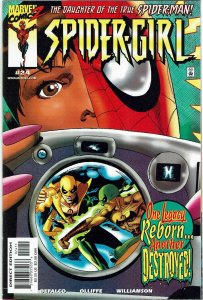 Spider-Girl #24 (1998) Tom DeFalco Iron Fist NM