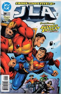 DC Comics JLA #29 Wonder Woman, Superman, Flash, Shazam, Green Lantern