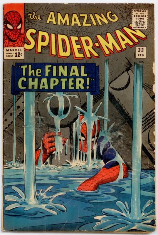 Amazing Spider-Man #33 VG 4.0  Classic cover!