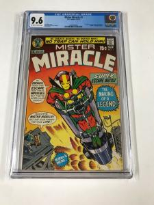 MISTER MIRACLE #1 - CGC 9.6 NM+ (1st App. of Mister Miracle ; OW / W Pages)