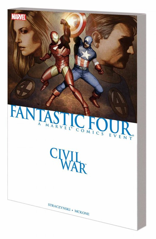 CIVIL WAR FANTASTIC FOUR TP NEW
