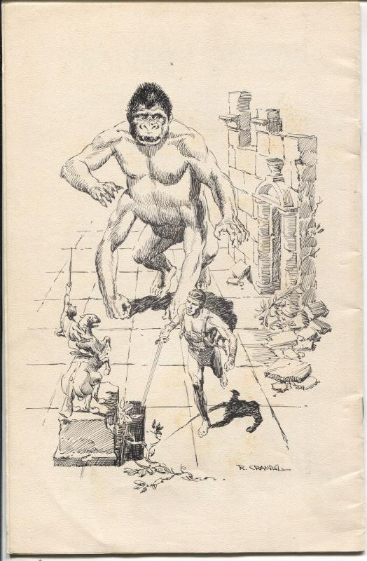 Barsoomian #11 7/1966-Edgar Rice Burroughs-Elmo Lincoln-Reed Crandall-FN