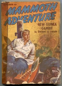 Mammoth Adventure Pulp September 1947- New Guinea Gambit G-