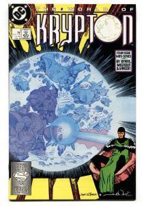 World of Krypton #3-1988-First appearance of Seyg-El-comic book