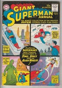 Superman Giant Annual #4 (Jan-61) FN+ Mid-High-Grade Superman, Jimmy Olsen,Lo...
