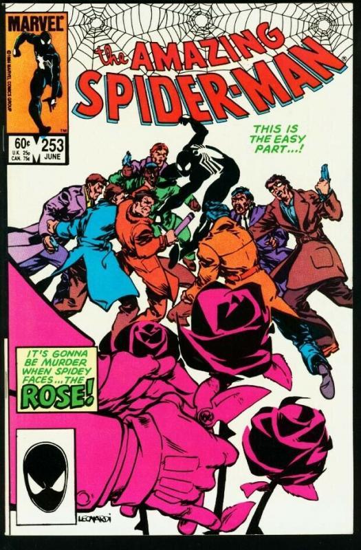 AMAZING SPIDER-MAN #253-1984-MARVEL VF