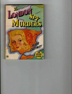 3 Books The London Spy Murders Planetary Agent X UFO Encounters JK10
