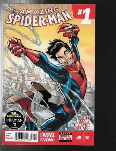 11 Comics Spiderman 1 2 3 6 7 8 Original Sin 5 Spider-verse 9 10 11 ANN #1 J449