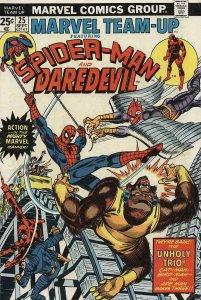 Marvel Team-Up #25 VG; Marvel | low grade comic - save on shipping - details ins